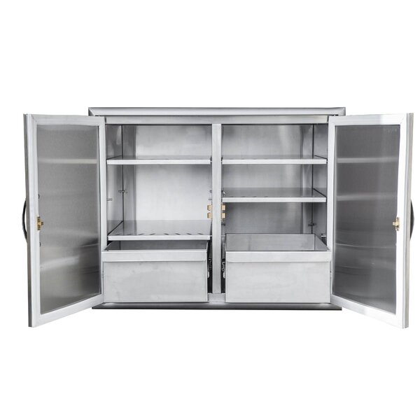 Stainless Steel Dry Storage Cabinet by Barbeques Galore