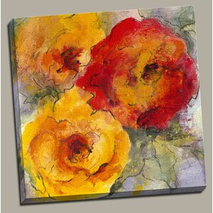 Orange Blossom II Painting Print on Wrapped Canvas by Portfolio Canvas Decor