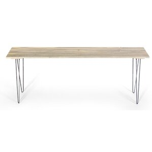 Slat Style Entry Table by Ghost River Furnit..