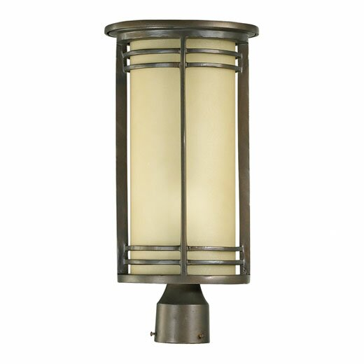 Amethyst Outdoor 1-Light Lantern Head by Millwood Pines