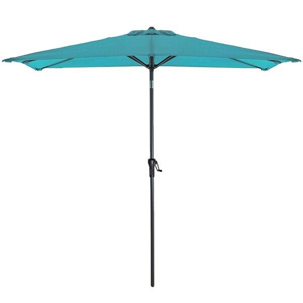 Nessa 5' X 9' Rectangular Market Umbrella By Rosecliff Heights