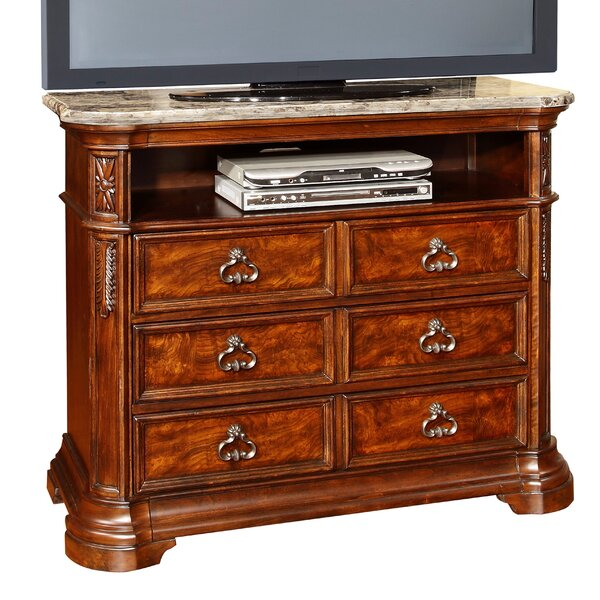 Royal Palace 6 Drawer Media Chest by Wildon Home ®