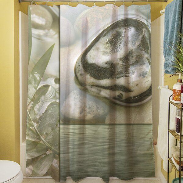 Natural Elements IV Shower Curtain by Manual Woodworkers & Weavers