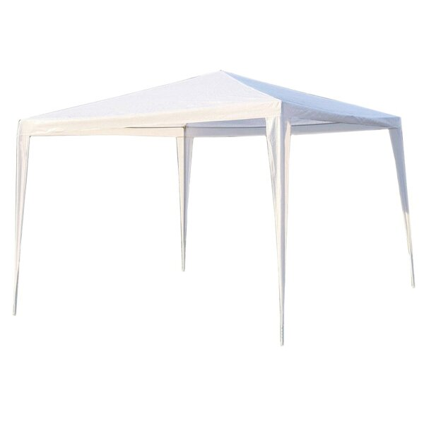 10 Ft. W x 10 Ft. D Metal Pop-Up Canopy by ALEKO
