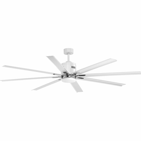 72 Bankston 8 Blade LED Ceiling Fan with Remote by Brayden Studio