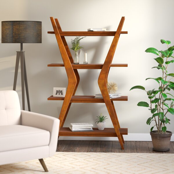 Woodcrest Ladder Bookcase by Langley Street