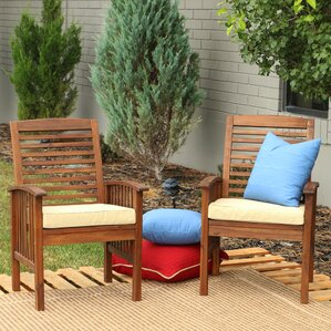 widmer dining arm chair with cushion set of 2 - Wayfair Dining Chairs