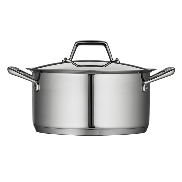 Gourmet Prima 6-qt. Stock Pot with Lid by Tramontina