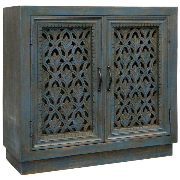 Yusuf 2 Door Accent Cabinet By One Allium Way