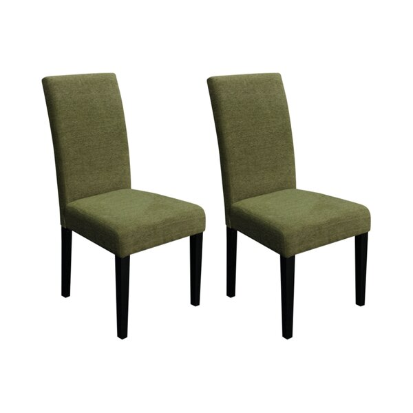 Merida Linen Upholstered Dining Chair (Set Of 2) By Andover Mills