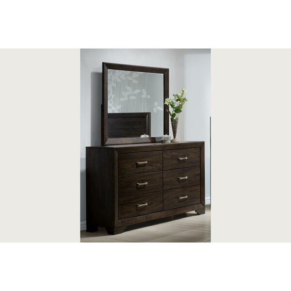 Covington 6 Drawer Double Dresser by Wrought Studio