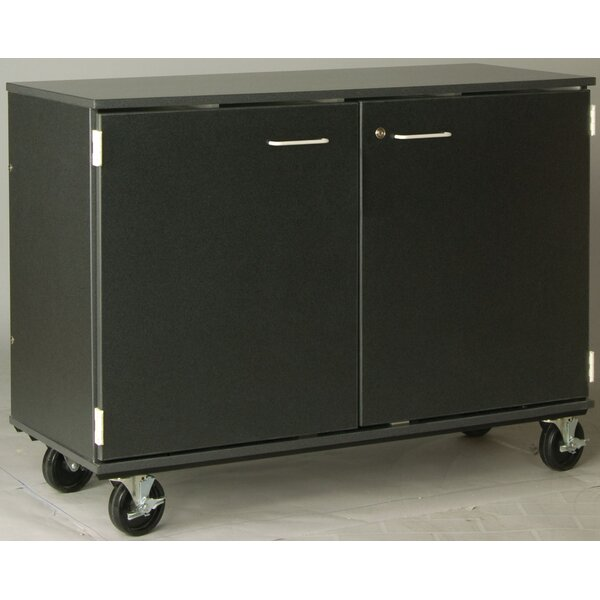 Music 40 Choral Folio Storage With Casters And Doors By Stevens Id Systems.