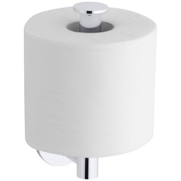 Stillness Vertical Toilet Tissue Holder by Kohler