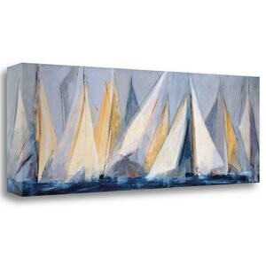 'First Sail I' Print on Wrapped Canvas by Tangletown Fine Art