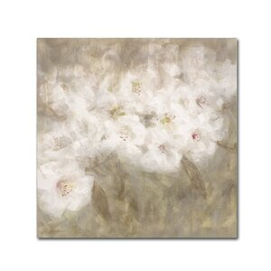 Wild Flowers I by Li Bo Painting Print on Wrapped Canvas by Trademark Fine Art