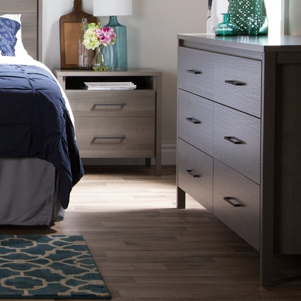 Gravity 6 Drawers Double Dresser by South Shore