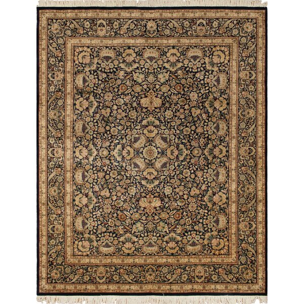 One-of-a-Kind Ahumada Hand Knotted Wool Blue/Beige Area Rug by Isabelline