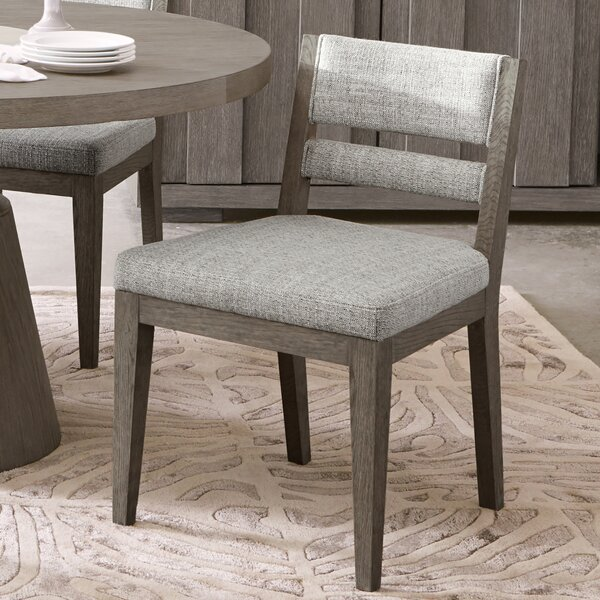 Highline Upholstered Dining Chair (Set of 2) by Bloomsbury Market Bloomsbury Market