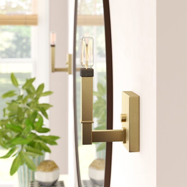 Autumn 1-Light Armed Sconce by Langley Street