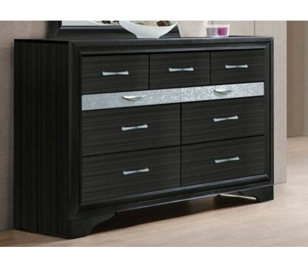 Tarawa 9 Drawer Dresser Chest by Mercer41