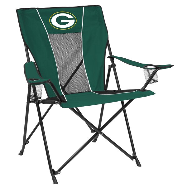 Game Time Folding Camping Chair by Logo Brands