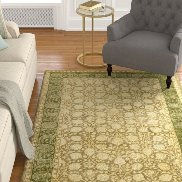 Bellview Ivory/Sage Area Rug by Astoria Grand