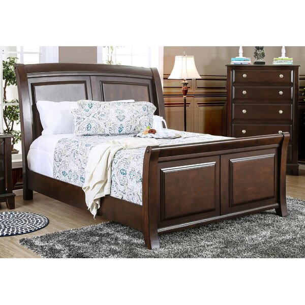 Daleville Sleigh Bed by Darby Home Co