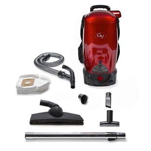 GV 8 Qt. Commercial Pro Cordless Battery Powered HEPA Backpack Back Pack Vacuum by GV