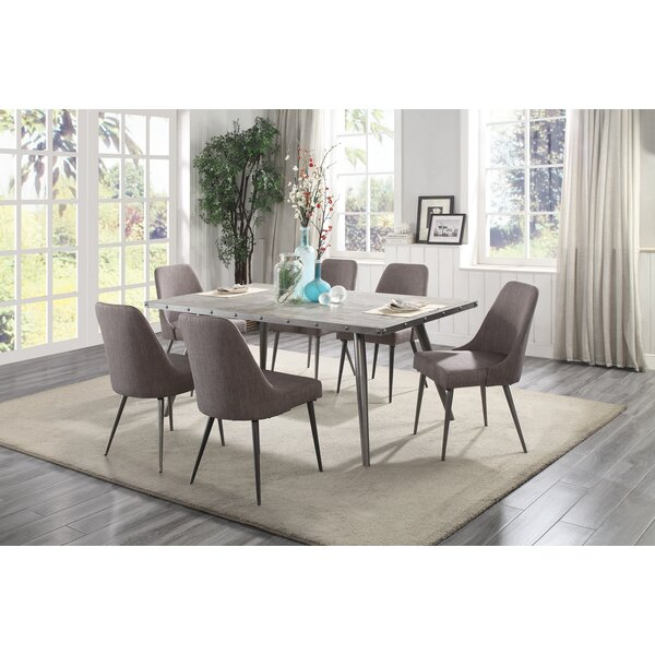 Sunray 7 Piece Dining Set by Everly Quinn