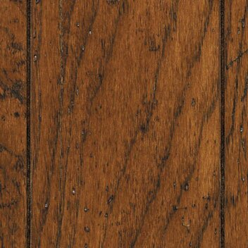 Chesapeake Plank 5 Engineered Hickory Hardwood Flooring in Cherry Spice by Mannington