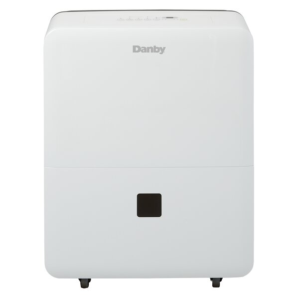 45 Pint Portable Dehumidifier with Casters by Danby