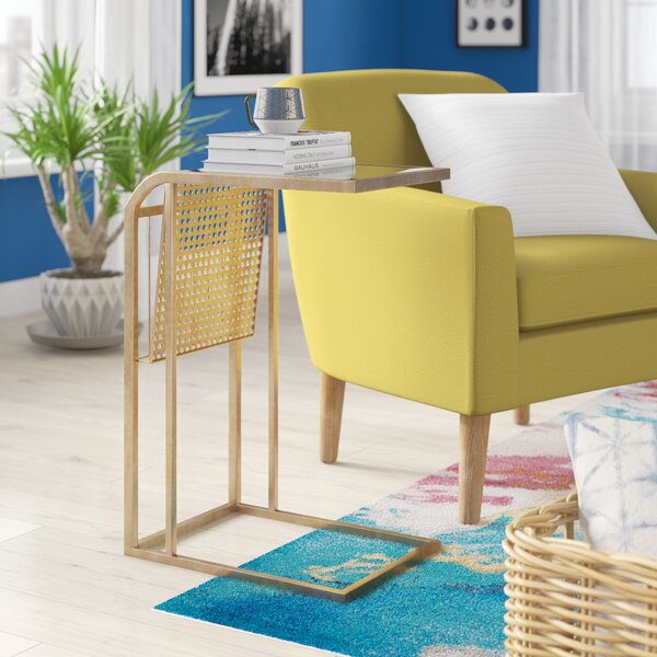 Borelli Magazine End Table by Ivy Bronx