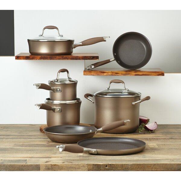 Advanced Nonstick 11 Piece Cookware Set by Anolon