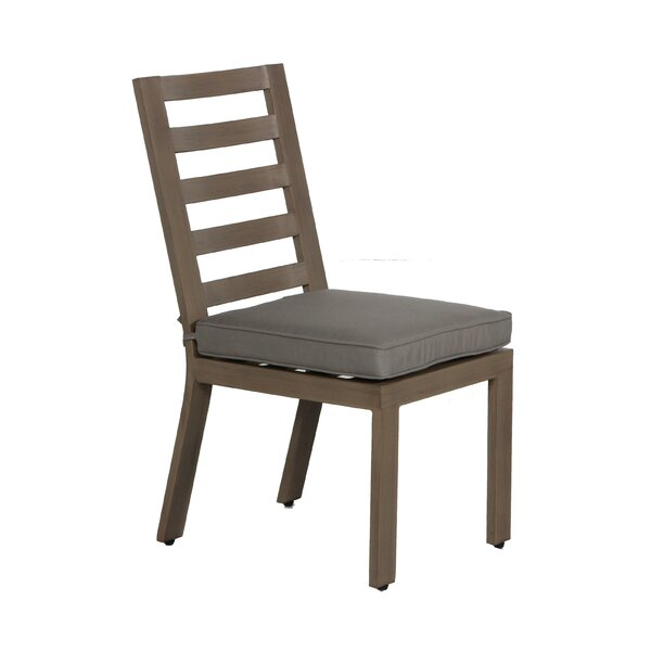 Potsdam Patio Dining Chair with Cushion (Set of 2) by Gracie Oaks