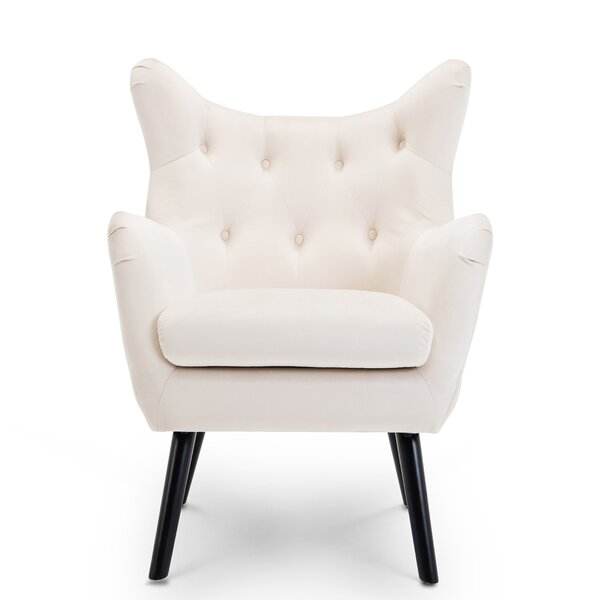 Bellavia Wingback Chair by Mercer41 Mercer41