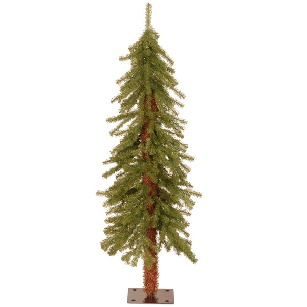 Hickory Cedar Green Artificial Christmas Tree by N