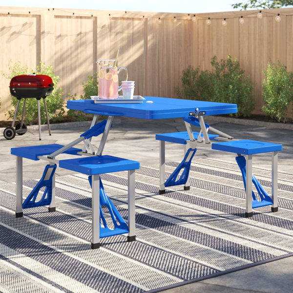 Enjoyable Composite Picnic Table Wayfair Onthecornerstone Fun Painted Chair Ideas Images Onthecornerstoneorg
