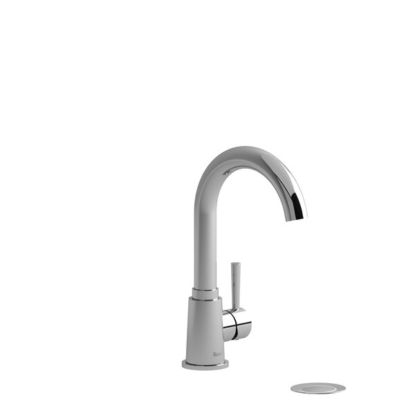 Pallace Single Hole Bathroom Faucet with Drain Assembly by Riobel Riobel
