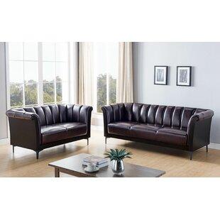 Lovely Comfort 2 Piece Standard Living Room Set by Latitude Run®
