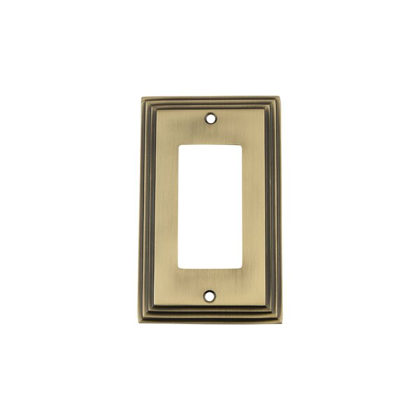 Deco Light Switch Plate by Nostalgic Warehouse
