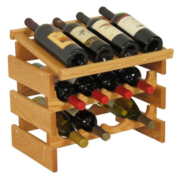 Geis 12 Bottle Tabletop Wine Bottle Rack by Symple Stuff Symple Stuff