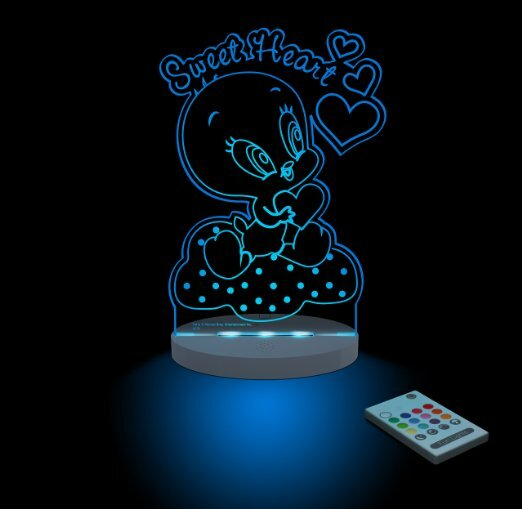 Warner Bros. Looney Tunes Baby Tweety Sweetheart Night Light by CompassCo