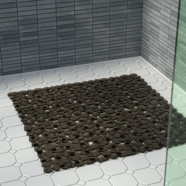Ed Stall Pebbles Vinyl Shower Mat by Wade Logan