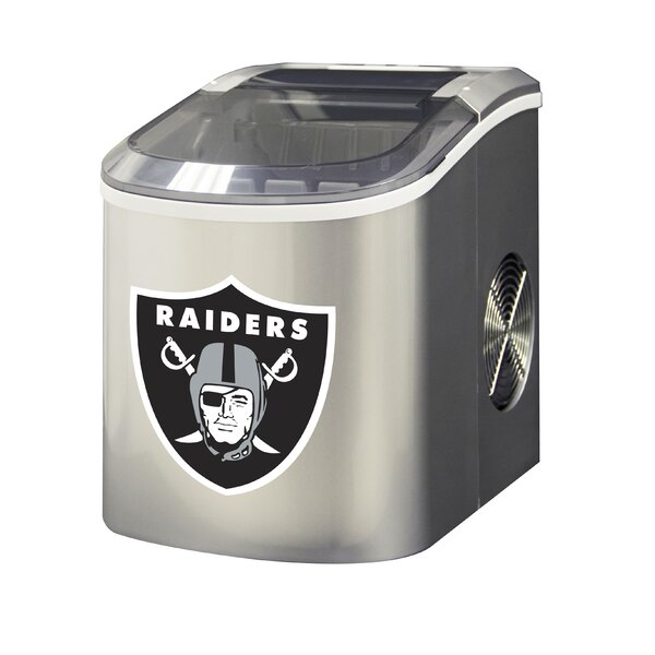 NFL 26.5lb. Daily Production Portable Ice Maker by Glaros