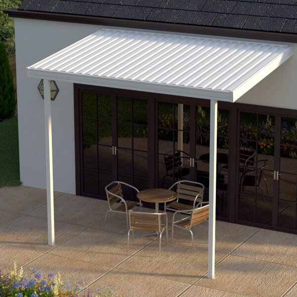 12 ft. W x 8 ft. D Patio Awning by Heritage Patios
