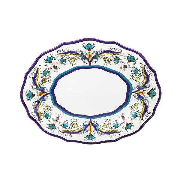 Samana Euro Wavy Platter by Lorren Home Trends