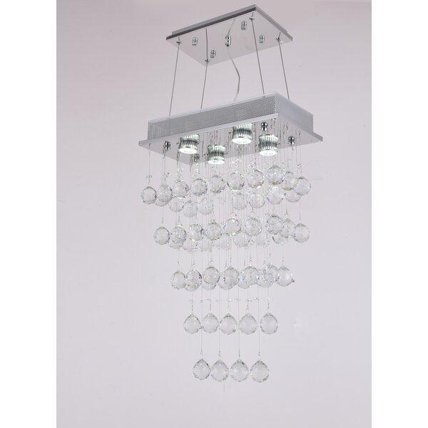 Ormiston 4 - Light Unique / Statement Tiered Chandelier By House Of Hampton