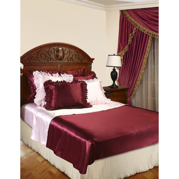 Mini Pleats Luxurious Bed Ruffle by Violet Linen