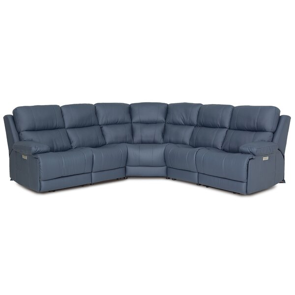 Finn Symmetrical Reclining Sectional By Palliser Furniture
