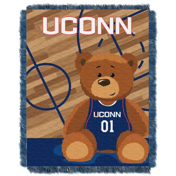Collegiate U Conn Woven Baby Blanket by Northwest Co.